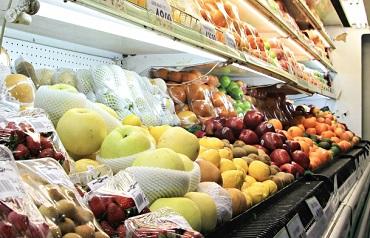 果物が積むスーパーの品出しバイト