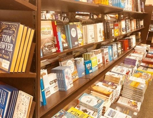 TSUTAYAの書店コーナー